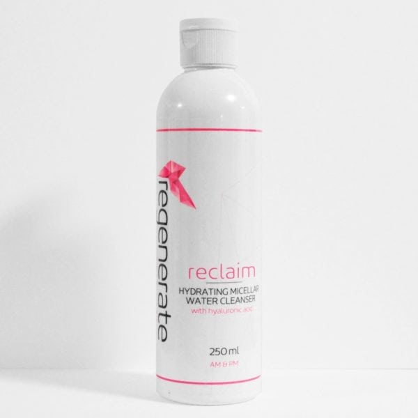 Regenerate Reclaim Micellar Water